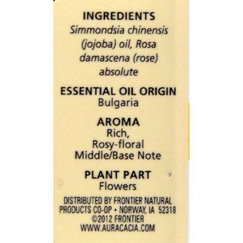 Aura Cacia - Rose Absolute in Jojoba Oil - 0.5 fl oz