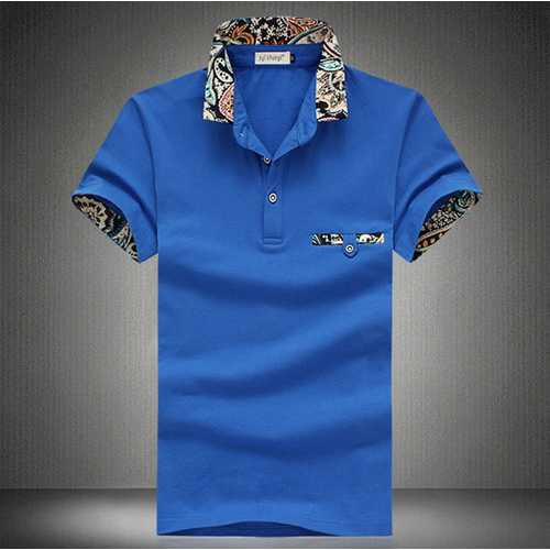 Mens Casual Cotton Sports Golf Shirt-Men's Clothing-SJI Shop