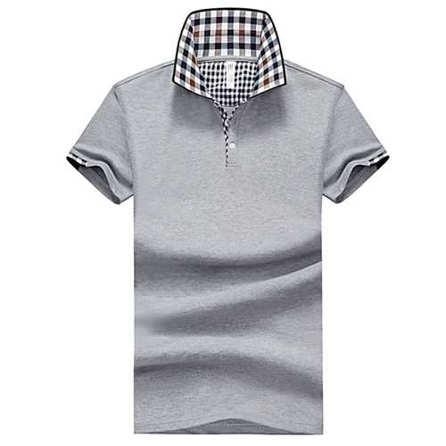 Mens Slim Solid Color Golf Shirt-Men's Clothing-SJI Shop