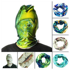 52*24CM Outdoor Sports Fishing Polyester Tubular Scarf Wrist Head Band Face Mask Protector-Fishing-SJI Shop