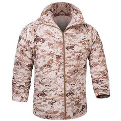 Spring Summer Mens Tactical Camouflage Thin Skin Jacket Waterproof Quick Dry Outdoor Jacket-Men Outwear-SJI Shop