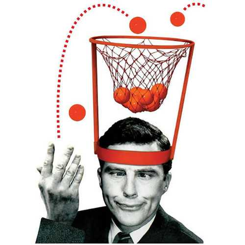 Head Basketball Hoop Game Circle Shot Plastic Basket Parent - Child Interactive Toys Hat-Outdoor Games & Play-SJI Shop