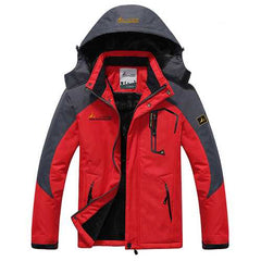 Thick Fleece Winter Outdoor Water Repellent Jacket-Men Outwear-SJI Shop