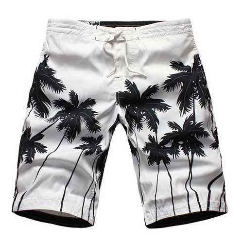 Summer Seaside Quick Drying Breathable Loose Casual Holiday Beach Shorts for Men-Men Beachwear-SJI Shop