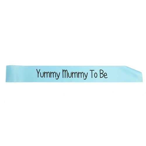 Colors Baby Shower Party Satin Sash Banner Ribbon New Mummy To Be/Grandma/Auntie/Nanny-Party Supplies-SJI Shop
