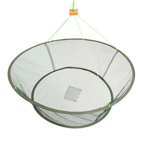 ZANLURE Foldable Fishing Net Prawn Bait Minnow Crab Shrimp Drop Harbour Pond Mesh-Fishing-SJI Shop