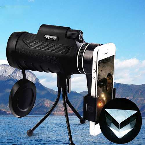 PANDA 40X60 HD BAK4 Monocular Low Light Level Night Vision Phone Telescope-Sports & Outdoor-SJI Shop