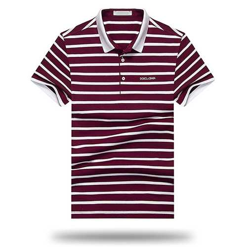 Men's Leisure Cotton Short Sleeved Golf Shirt-Men's Clothing-SJI Shop