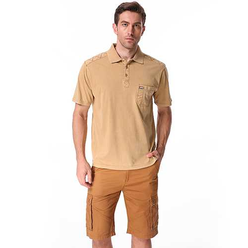 Personalized Chest Pocket Summer Golf Shirt-Men's Clothing-SJI Shop