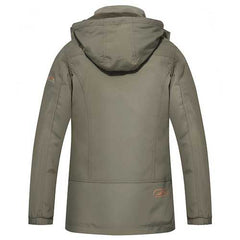 Mens Military Outdooors Hooded Quick Drying Casual Thin Jacket Spring Autumn Solid Color Coat-Men Outwear-SJI Shop