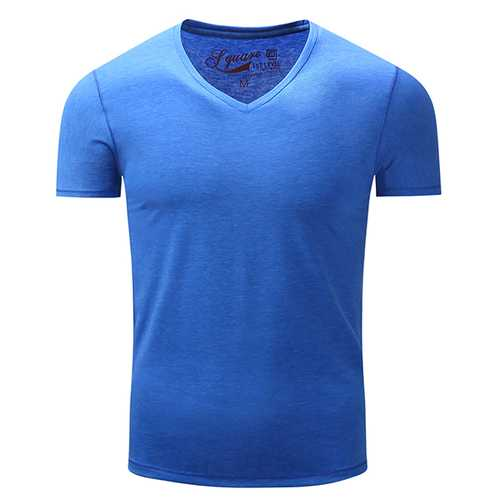Men's Pure Cotton Leisure Tops-Men's Clothing-SJI Shop