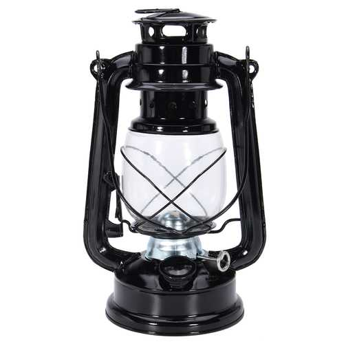 IPRee Retro Oil Lantern Outdoor Garden Camp Kerosene Paraffin Portable Hanging Lamp-Sports & Outdoor-SJI Shop