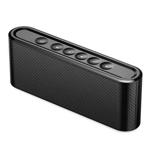 MANOVO X6 2200mAh Screen Touch TF Wireless bluetooth Speaker with Mic for iPhone 7 8 Mobile Phone-Bluetooth Speakers-SJI Shop