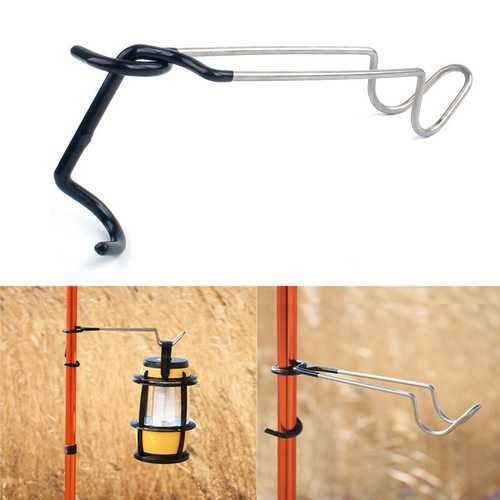 Outdoor Camp Lantern Hook 304 Stainless Steel Light Clamp Holder-Sports & Outdoor-SJI Shop