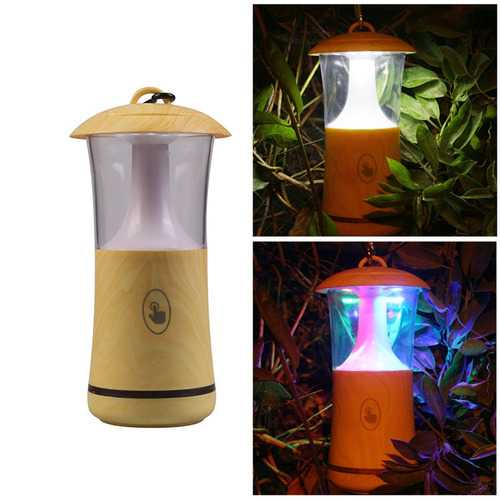 Portable 4.2V LED Touch Dimming Lamp USB Colorful Flash Emergency Night Light-Sports & Outdoor-SJI Shop