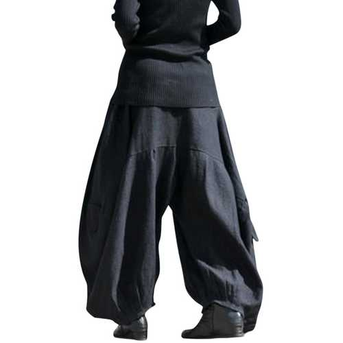 S-3XL Women Harem Casual Loose Baggy Lantern Pants-Women Bottoms-SJI Shop