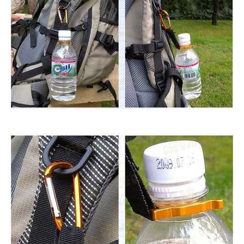 Outdoor Camping Hiking 8G Beverage Bottles Backpack Hanging Buckle-Sports & Outdoor-SJI Shop