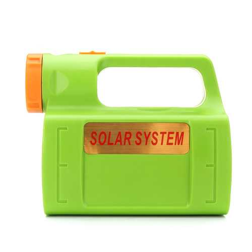 6V 6W Solar Lights LED Camping Lantern Hanging Flashlight Lamp Emergency Power Supply 8000mAh-Sports & Outdoor-SJI Shop