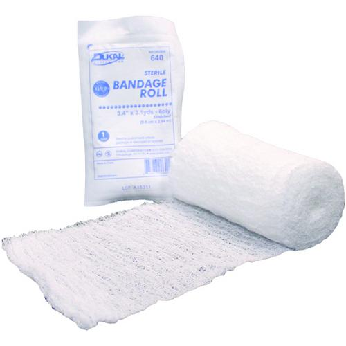 "Case of [100] Dukal Fluff 6-Ply Non-Sterile Bandage Roll 4.5""x4.1YD-Healthcare-SJI Shop"