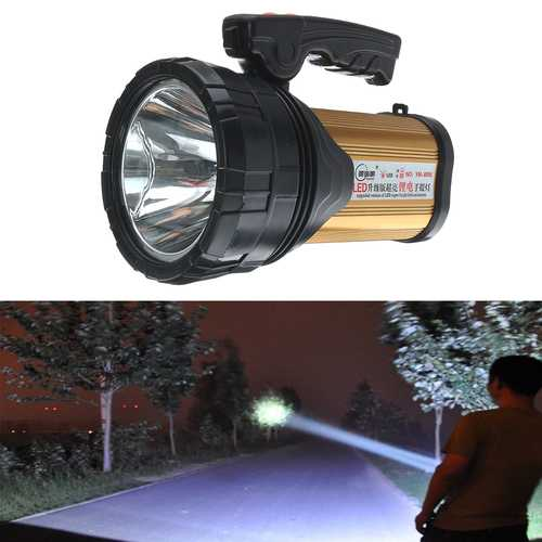 120W Portable Camping Light USB Rechargeable Spotlights Hand Held Outdoor Lantern Searchlight-Sports & Outdoor-SJI Shop