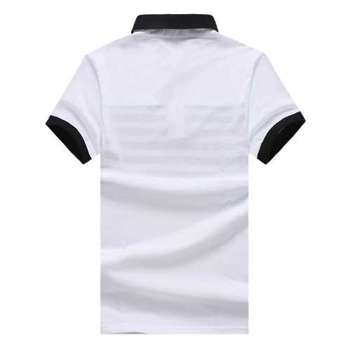 Men's Casual Fashion Striped Short Sleeved Golf Shirt-Men's Clothing-SJI Shop