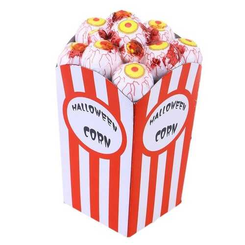 Halloween Decorations Treat or Trick Toys Funny New Bar Haunted House Simulation Eye Popcorn-Party Supplies-SJI Shop