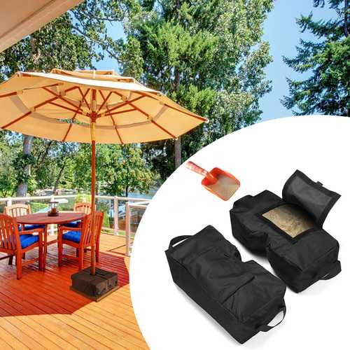 2 x Tent Fixed Sandbag Sun Shelter Umbrella Weight Bag Outdoor Camping Tent Sand Bag-Camping & Hiking-SJI Shop