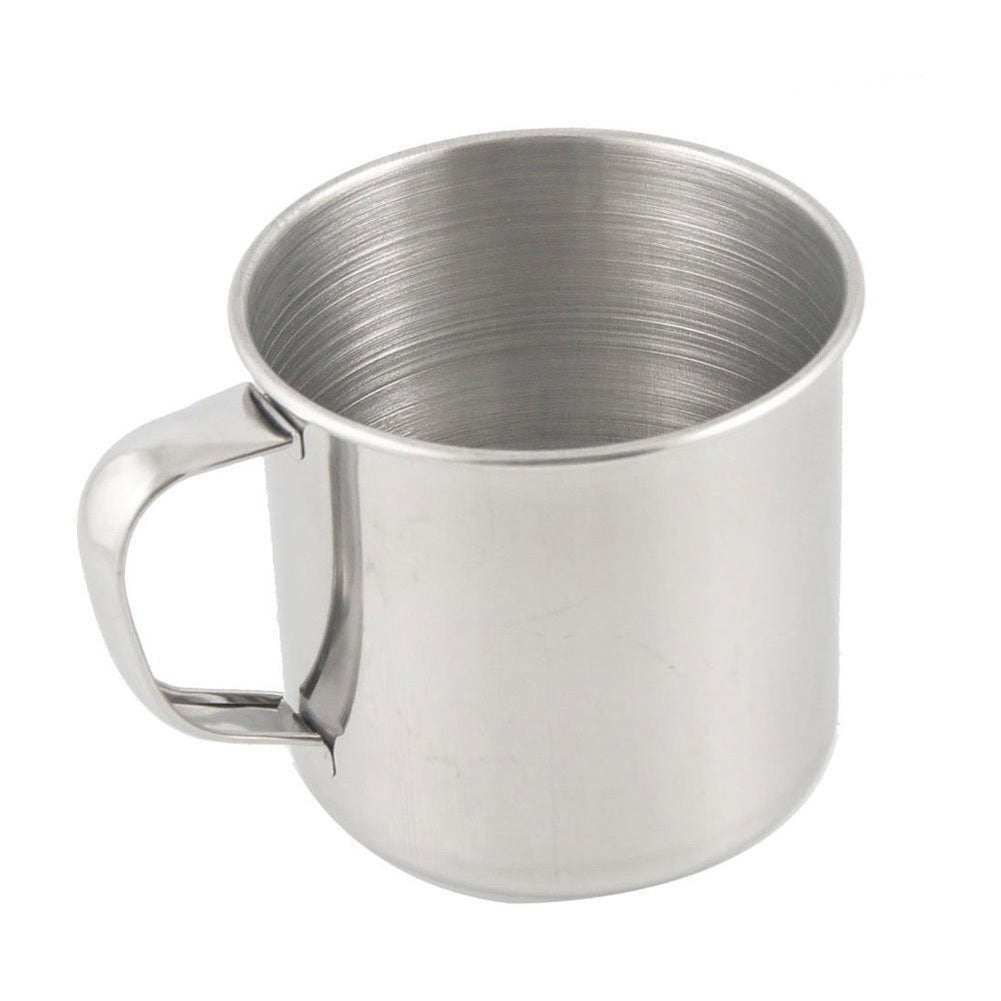 Outdoor Camping Hiking Stainless Steel Coffee Tea Mug Cup Office School Gift-Others-SJI Shop