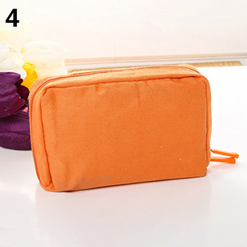 Large Capacity Travel Cosmetic Makeup Case Zipper Multifunction Bag Organizer-Clutch Bags-SJI Shop