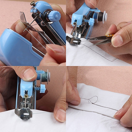 Portable Needlework Cordless Mini Hand-Held Clothes Fabrics Sewing Machine-Apparel Care & Sewing-SJI Shop