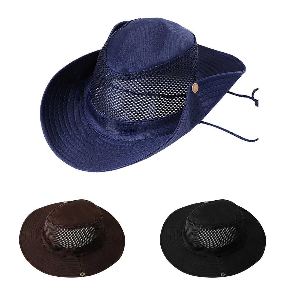 Practical Cap Hat Anti-UV Outdoor Travel Fishing Climbing Camping Picnic Sunhat-Camping & Hiking-SJI Shop