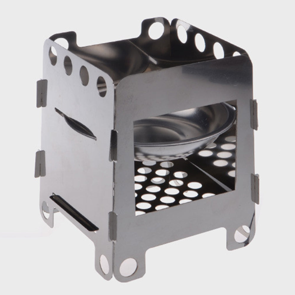 Portable Stainless Steel Splicing Mini Picnic Stove Outdoor Camping Furnace-Other Accessories-SJI Shop