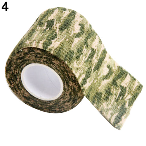 4.5m x 5cm Camo Tape Hunting Hiking Camping Outdoor Camouflage Stealth Tool-Other Accessories-SJI Shop