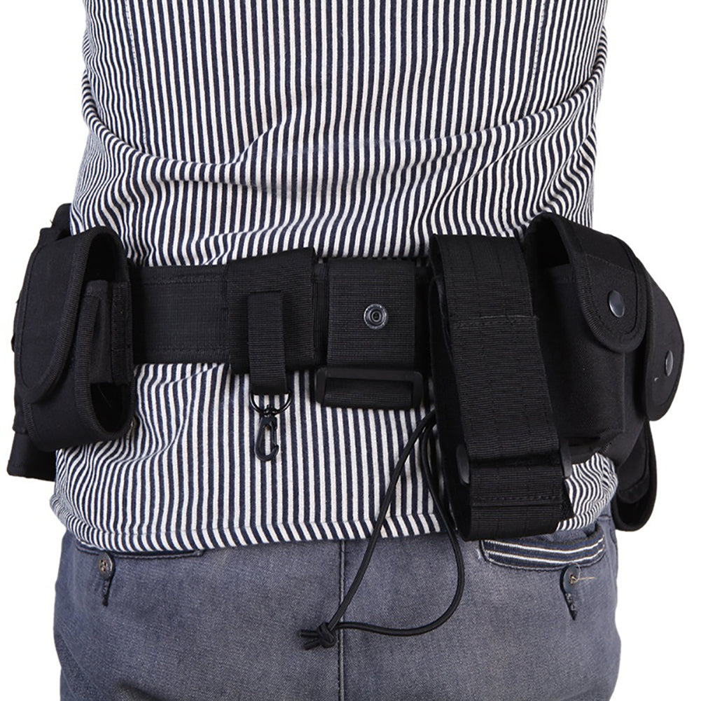 10 Pouch Security Military Duty Utility Belt Camping Tactical Waist Bags Holster-Other Accessories-SJI Shop
