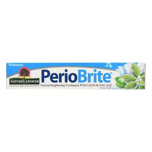 Nature's Answer Periobrite Wintermint Natural Brightening Toothpaste  - 1 Each - 4 OZ