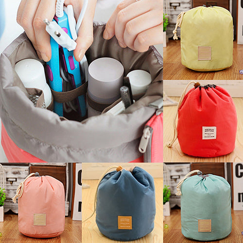 Home Travel Cosmetic Makeup Bag Toiletry Jewelry Drawstring Storage Case Pouch-Bag Accesories-SJI Shop