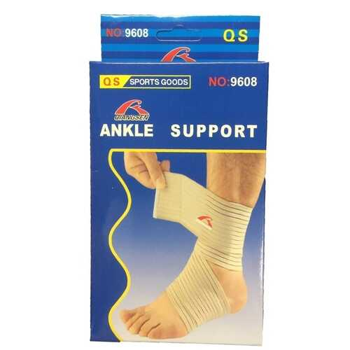 Case of [72] Ankle Wrap Support - One Size Fits Most