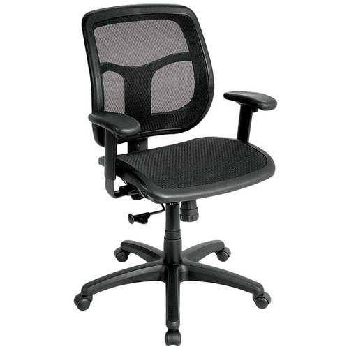 "26"" x 20"" x 36"" Black Mesh Chair"