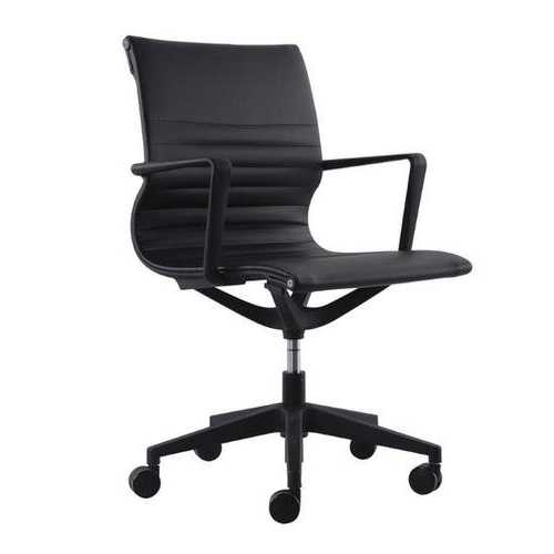 "23.8"" x 20.8"" x 35.8"" Black Mesh Flex Tilt Chair"