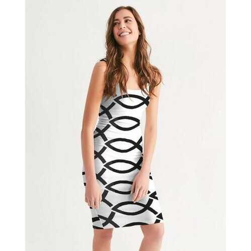 LOVE N LIFE Womens Midi Bodycon Dress