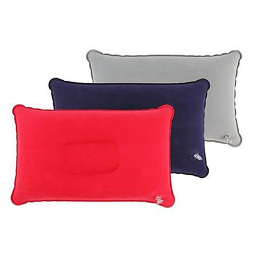 Inflatable Pillow Travel Air Cushion Camp Beach Car Plane Bed Sleep Head Rest-Camping & Hiking-SJI Shop