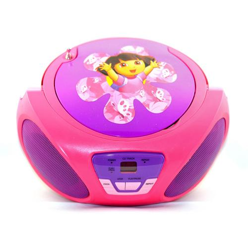 Dora the Explorer CD Boombox-Kids Electronics-SJI Shop