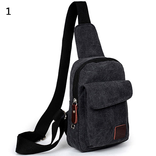 Men Canvas Satchel Casual Cross Body Handbag Messenger Shoulder Bag-Bag Accesories-SJI Shop