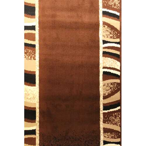 Portrait Brown/Beige Area Rug-Rugs-SJI Shop