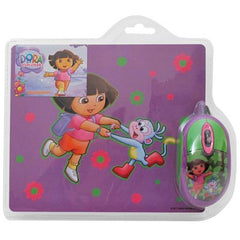 Dora the Explorer Mouse and Mousepad Kit-Office & Home-SJI Shop