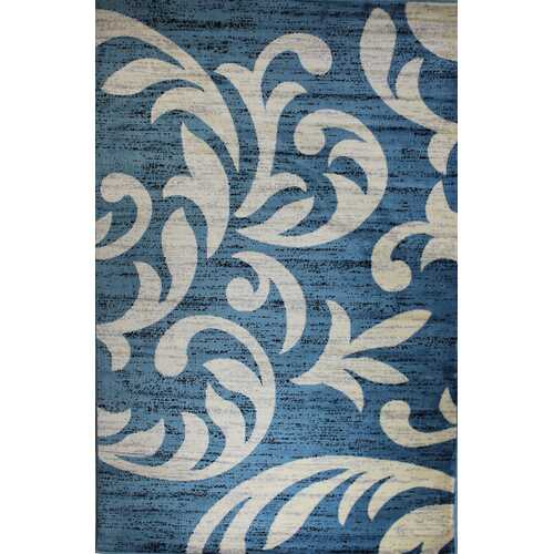 Knoxville Blue Area Rug 5 ft. by 7 ft.-Rugs-SJI Shop