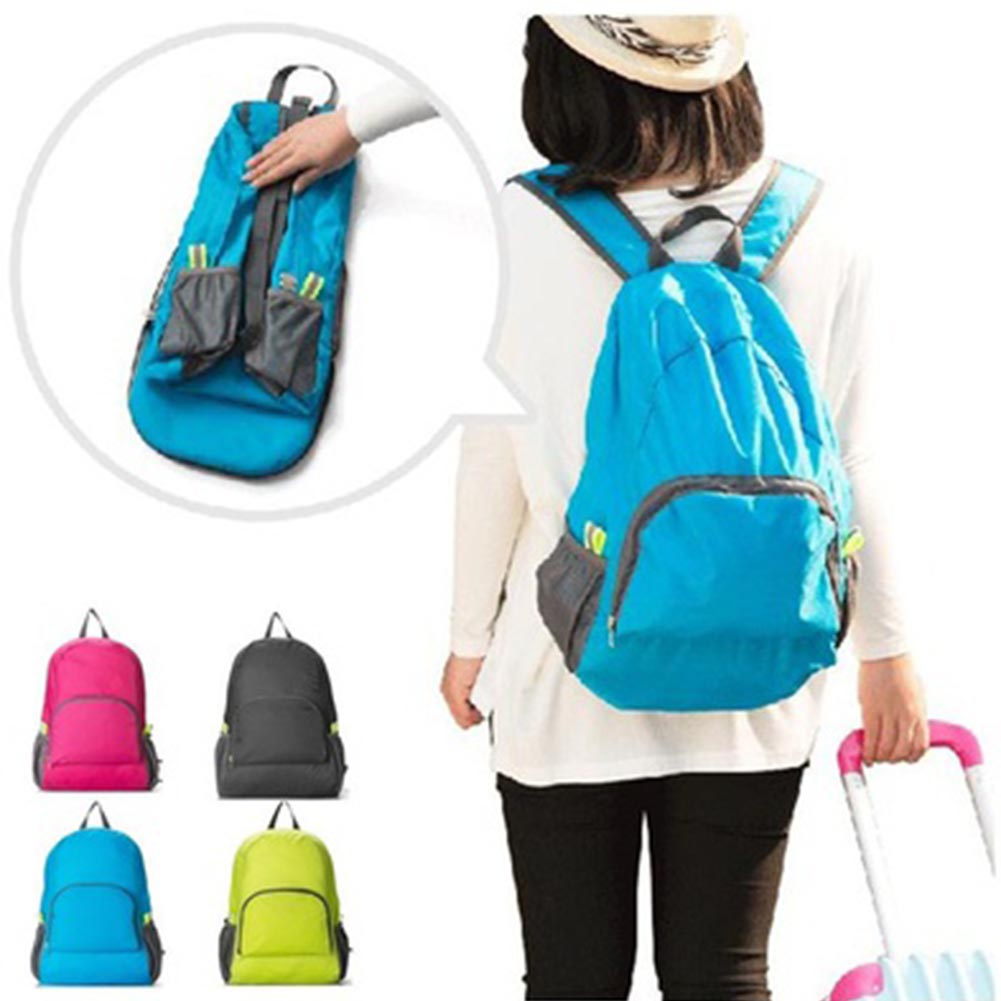 Outdoor Foldable Backpack Travel Sport Space Saving Camping Cycling Rucksack-Handbags-SJI Shop