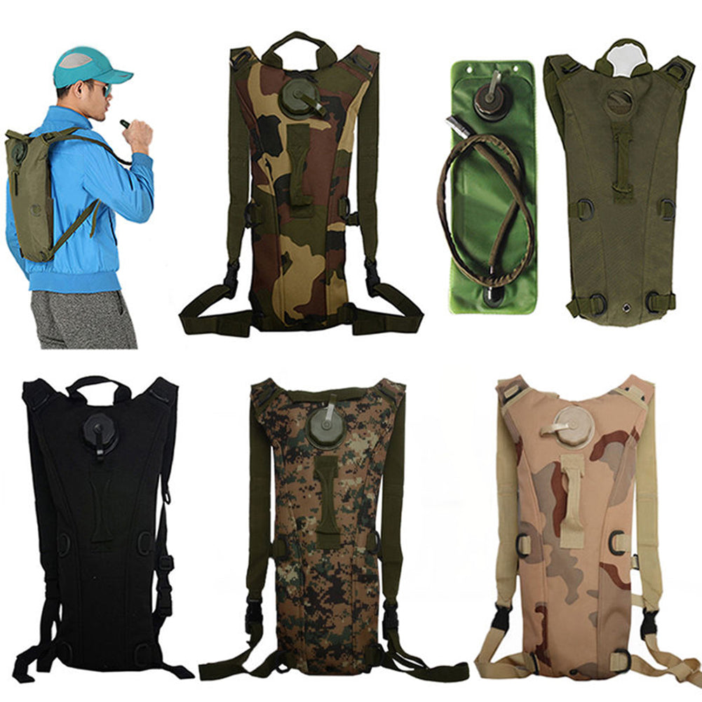 3L Hydration Water Bladder Bag Backpack Rucksack Cycling Hiking Camping Tool-Other Accessories-SJI Shop
