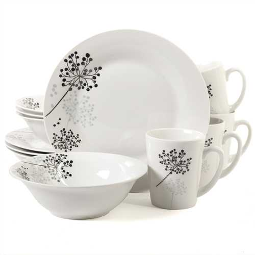 Gibson Netherwood 12-Piece Dinnerware Set-Dinnerware-SJI Shop