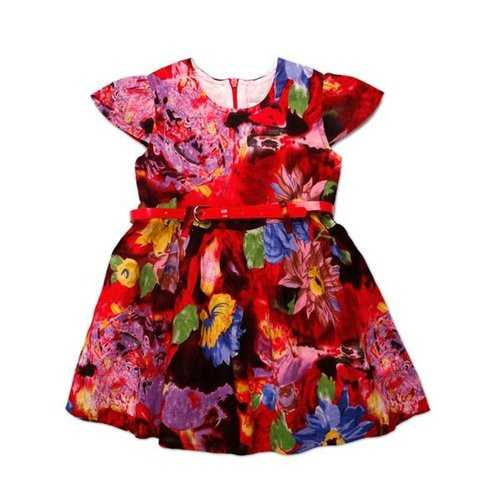 18M-6Y Girls Colorful Summer Flower Dress Baby Kids Skirt-Girls Clothing-SJI Shop